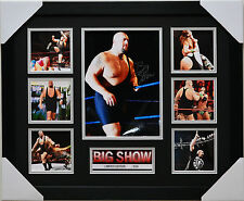 BIG SHOW LIMITED EDITION FRAMED MEMORABILIA