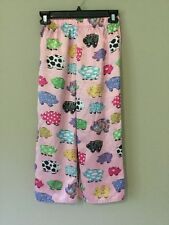 Nick & Nora Sleepwear Girl Pigs Pajama Lounge Pants Size L 10/12