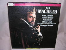 Verdi MacBeth / Zampieri / Sinopoli / Book Only