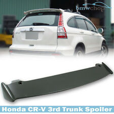 Painted For 3rd Honda CR-V CRV Hatchback Rear Spoiler Wing Mugen Look 2007 2011
