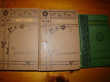 EVERY-DAY TOPICS BOOK OF BRIEFS, BAY-PATH, KATHRINA 3 books by  J.G. HOLLAND