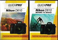 QUICKPro Training DVD Nikon D610 Set - NEW  Free US Shipping