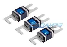 XSCORPION 60 AMP 3 PACK PLATINUM MINI ANL (AFS/MIDI) WAFER FUSES WITH LED LIGHT