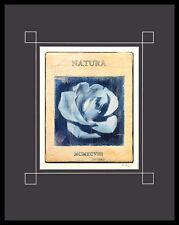 Stuart McQueen Natura Poster Bild Kunstdruck mit Alurahmen in schwarz 50x40cm
