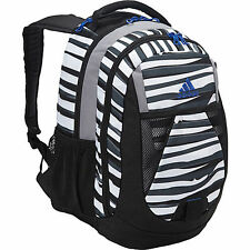 New Adidas Dillon Print Backpack Parastripe White/power Blue 5133124 Bag