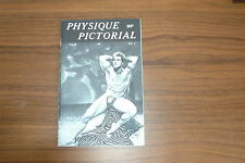PHYSIQUE PICTORIAL VOL 9 #3 60s VINTAGE MAGAZINE BOYS ART BEEFCAKE GAY MALE NUDE