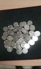 lot de pièces 5 franc nickel commémorative pour numismate, machine a sous