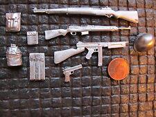 M1 Garand Thomson Pistole US Army Gewehr Metall RC Panzer Deko Set Zubehör 1/16