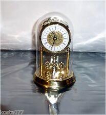 """Vintage Ergo, 7"""" Quartz 85 West Germany Glass Dome Pendulum Clock"""