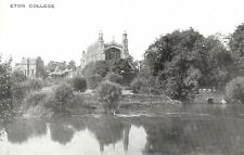 Berkshire: Eton College - River Thames - Unposted c1900 - Valentine