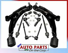 INNER OUTER TIE RODS CONTROL ARMS FRONT & REAR SWAY BAR LINK SENTRA 91 92 93 94