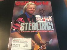 Greg Norman Golf Autograph Golf World Cover