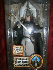 THE LORD OF THE RINGS THE RETURN OF THE KING POSEABLE MINAS TIRTH CITADEL GUARD