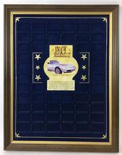 50th Anniversary Corvette Silver Bar Display Board Lot 1341