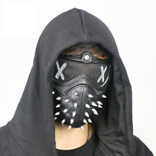 Watch dogs 2 Marcus Wrench Mask Half Face Mouth-Muffle Halloween Props Cospaly