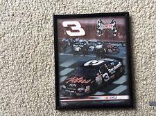 DALE EARNHARDT #3 FRAMED PHOTO 1998 RCR RACING NASCAR