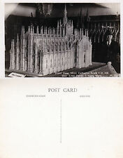 1930's MODEL OF MILAN CATHEDRAL ITALY UNUSED POSTCARD