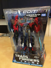 Takara Transformers Prime First Edition Optimus Prime Voyager Class