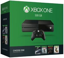 NEW Microsoft Xbox One 500GB Console - Name Your Game Bundle