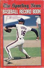 1985 SPORTING NEWS OFFICIAL BASEBALL RECORD BOOK - METS DOC GOODEN ON COVER