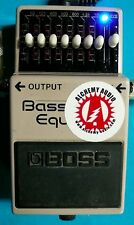 Modify your Boss GEB-7 EQ Bass Equalizer Effects Pedal + upgrades! Audio demo!