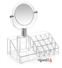 K20 Acryl Kosmetik Organizer mit Spiegel Make Up  Aufbewahrung Ordnungsständer