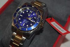 "SWISS WATCH INTERNATIONAL LEGEND ""DEEP BLUE"" NH35 AUTOMATIC 24 JEWEL MOVEMENT"