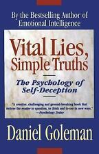 Daniel Goleman - Vital Lies Simple Truths (1996) - Used - Trade Paper (Pape