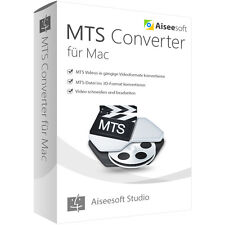 Aiseesoft MTS Converter MAC -lebenslange Lizenz Download 27,00 statt 39,00 EUR!