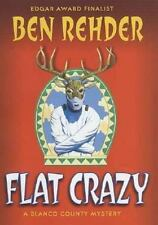 Flat Crazy: A Blanco County, Texas, Novel (Blanco County Mysteries)-ExLibrary