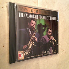 THE CANNONBALL ADDERLEY QUINTET CD PARIS 1960 PACD 5303-2 JAZZ