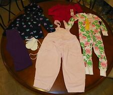 ms2214- 6 Piece Girls Clothing Lot sz 18-24 months