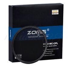 ZOMEI 52mm Slim U-HD MC-CPL Camera Circular Polarizing Filter for Canon Nikon