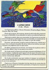 CARTE POSTALE / POSTCARD / ILLUSTRATEUR A.M BOUCHER / ASTROLOGIE / CAPRICORNE