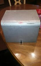 Vintage brumberger steel industrial cabinet dark room photo paper safe