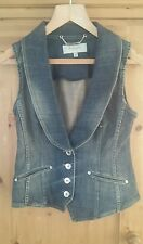 Karen Miller denim waste coat size 10