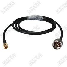 SMA male to N-Type male RF connector pigtail coax cable KSR195 6M 20ft WLAN