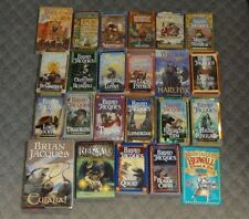 BRIAN JACQUES REDWALL Complete Set 23 books 1-22 + Redwall guidebook / poster