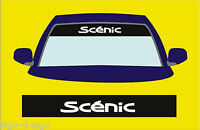 SCENIC SUNSTRIP DECALS GRAPHICS STICKER choose any 2 colours from list