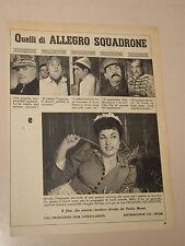 FILM ALLEGRO SQUADRONE SILVANA PAMPANINI=ANNI '50=PUBBLICITA=ADVERTISING=298