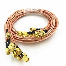 Neu 3 Feet SMA Male to Male  RF Antenna RG316 Pigtail Coaxial  Adapter Cable 1m