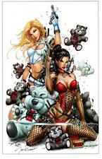 NOTTI & NYCE  ART PRINT - SIGNED BY ARTIST JAMIE TYNDALL 11x17 SUPER HOT!