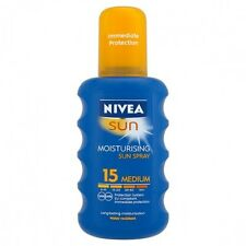 Nivea Sun Sunscreen SPRAY SPF 15- 200ml-Made in Germany
