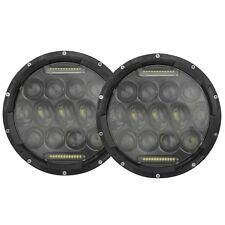 "2 x 7"" LED Head Lights Phillips USA Seller and Shipper NEW with 5 Year Warranty"