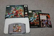 Nintendo 64 - Dual Heroes - N64 - Complete - Boxed + Instructions - PAL