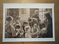 Fritz von Uhde - Lasset die Kindlein zu mir kommen - Teilstück / Kunstdruck