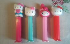Hello Kitty PEZ Lot 4 Collector's Candy Dispenser SANRIO includes My Melody 2003