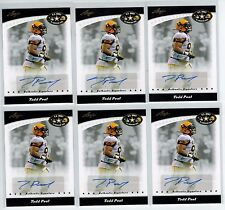 (6) 2011 LEAF U.S. ARMY ALL AMERICAN TODD PEAT AUTO LOT TEXAS A&M-COMMERCE
