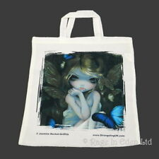 LILY Fantasy Strangeling Fairy Butterfly Art Tote Bag By Jasmine Becket-Griffith
