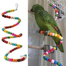 Parrot Toy Gifts Bird Spiral Ladder Swing Cage Toys Parakeet Cockatiel Budgie Z